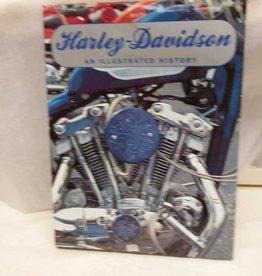Harley Davidson Illustrated Book