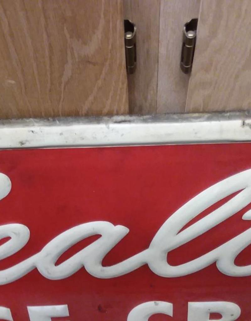 "Sealtest Ice Cream Sign, 55"" x 19"", c.1950's"