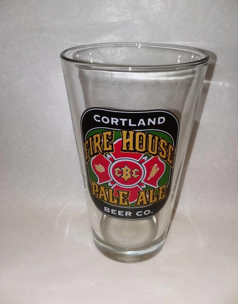 Cortland Beer Co. Fire House Pale Ale Glass, 1 Pint, 2012