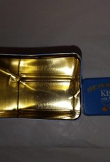 """Hershey's Kisses w/Almonds Tin, 4""""x7""""x2.5"""", 1990's"""