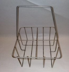 4 Compartment Quart Milk Bottle Carrier, c.1940's