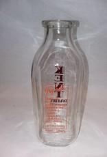 Kent Dairy, 1 Quart Milk Bottle