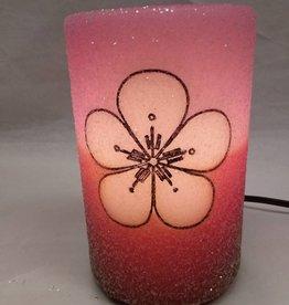 Mod Flower Pink & Brown