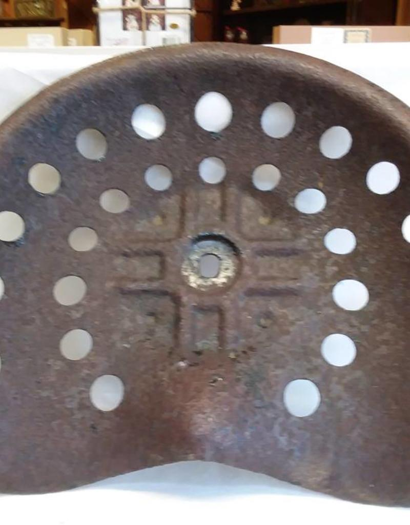 Authentic Steel Tractor Seat, Good Condition, Late 40's