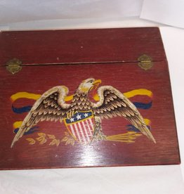 "Student Desktop Writing Box w/Eagle, 13.5""x11""x3"""