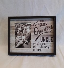 "World's Greatest Uncle Frame, 10""x8"""