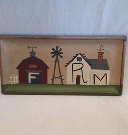 """Farm Tray, 11""""x5.25"""""""
