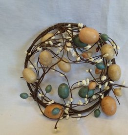 Easter Egg Candle Ring, 6.5""