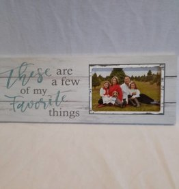 "Favorite Things Picture Frame, 15.5""x5.5""x.75"""