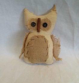 "Fabric Owl, 7"""