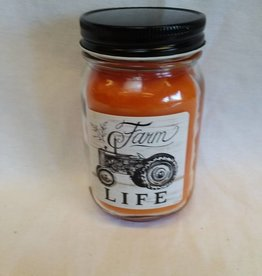 Farm Life Peach Cobbler Jar Candle, 12 oz.