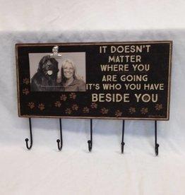 """Beside You Photo Hook Board, 16""""x11.5"""""""