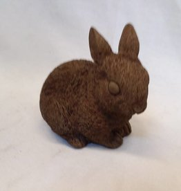 Small sitting Brown Bunny, 4.75""