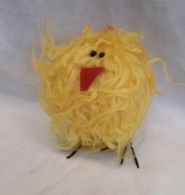 "Little Furry Yellow Chick, 6"" tall"