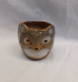 "Fox Planter, 3.5"" tall"