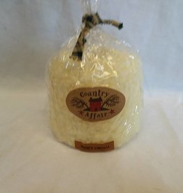"Large French Vanilla Candle, 4.5""x4"""
