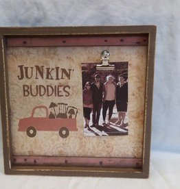 "Junkin Buddies Picture Frame Box, 10""x10""x1.75"""