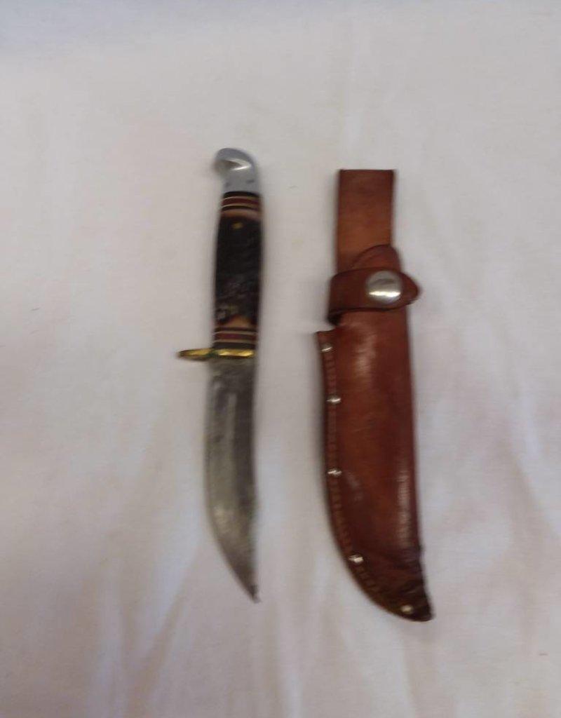 Boy Scout Knife Western w/Sheath