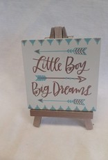Little Boy Easel Art