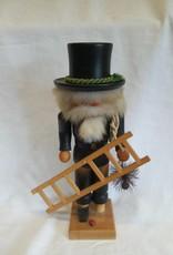 "Folk Art-Chimney Sweep Nutcracker, 11"""