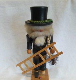 "Folk Art-Chimney Sweet Nutcracker, 11"""