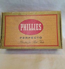 Phillies Perfecto Cigar Box, c.1950