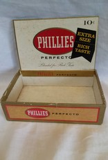 Phillies Perfecto Cigar Box, c.1950