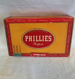 Phillies Perfecto 10 Cent Cigar Box, 1955