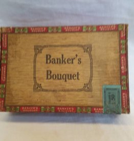 Banker's Bouquet 10 Cent Cigar Box, E.1900's