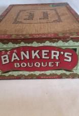 Banker's Bouquet 10 Cent Cigar Box, E.1900's