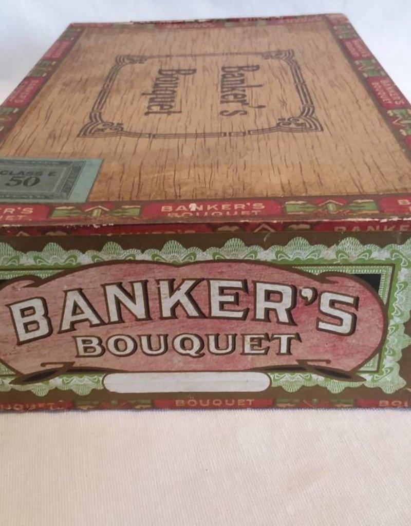 nker's Bouquet 10 Cent Cigar Box, E.1900's
