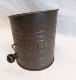 McLaughlin Flour Sifter, 6 Cup, 1930's-40's