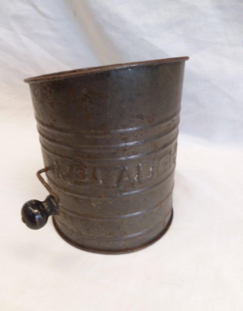 McLaughlin Flour Sifter, 6 Cup, 1930's-40's
