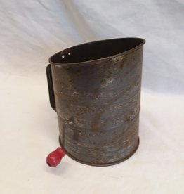 Bromwell's Flour Sifter, 6 Cup, 1940's