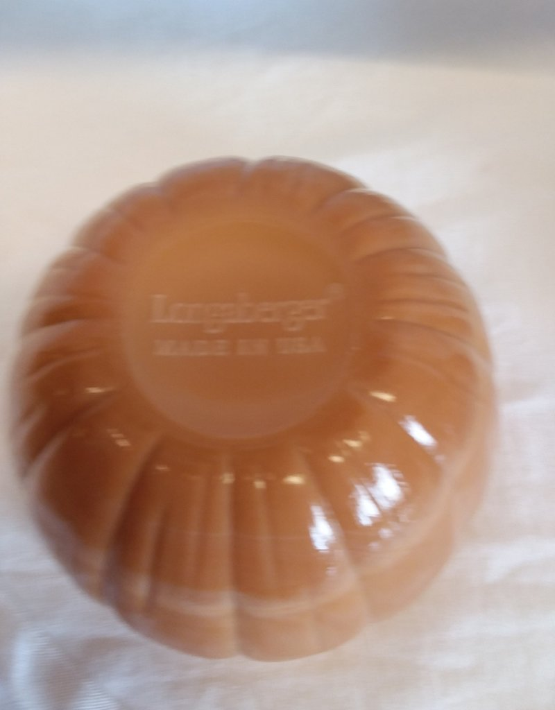 Pumpkin Candy Dish by Longaberger, 2003