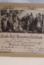 1940 Rel. School Certificate
