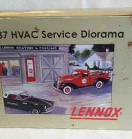 Lennox, 1937 HVAC Service Diorama, 2001