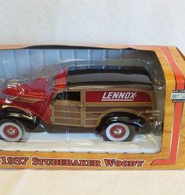 Lennox 1937 Studebaker Woody, 1:24 Scale, 2004