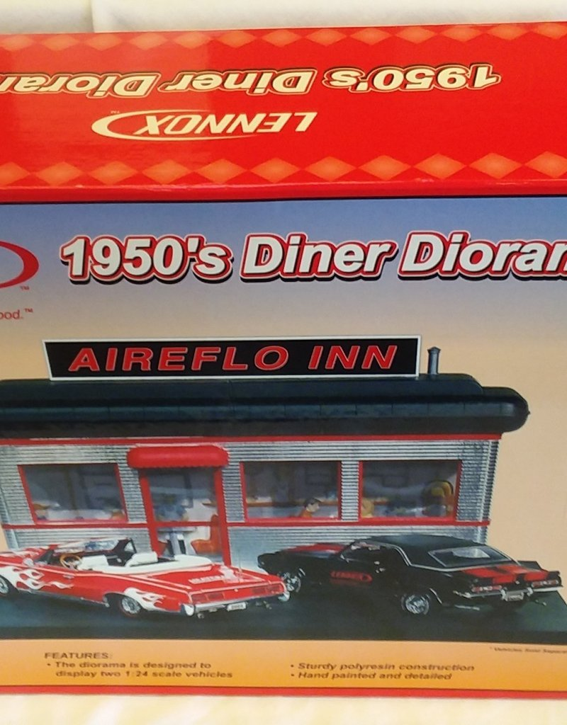 Lennox 1950's Diner Diorama,1:24 Scale, 2005