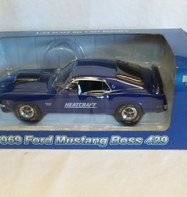 Heatcraft 1969 Ford Mustang Boss 429, 1:24 Scale, 2004