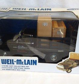 Weil-McLain Dodge Ram Stake Truck, 1:18 Scale, 2004