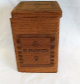 """El Producto Queens Wooden Cigar Box, 4.75""""x4.75""""x7"""""""