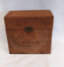 "Panatella Extra Wooden Cigar Box, 6.5""x3""x6"""