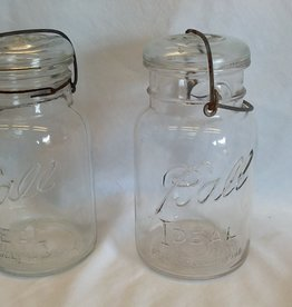 Ball Ideal Canning Jar, Pat Date July, 14, 1908