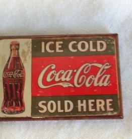 "Coca-Cola Magnet, 3""x2"""