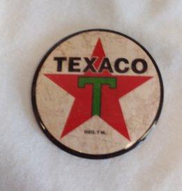 "Round Texaco Logo Magnet, 3"""