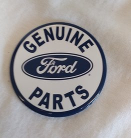 Round Ford Parts Magnet, 3""