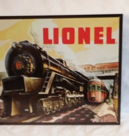 """Lionel 5200 Reproduction Sign, 16""""X12.5"""""""