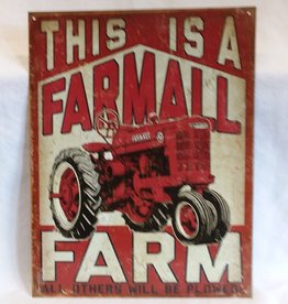 "This Is A Farmall Farm Reproduction Sign, 12.5""x16"""