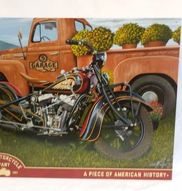 "Indian Motorcycle Company Sign, 16""x12.5"""